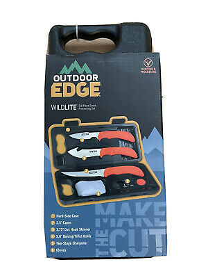 Outdoor Edge Wild-Pak Game Processing Kit by Outdoor Edge