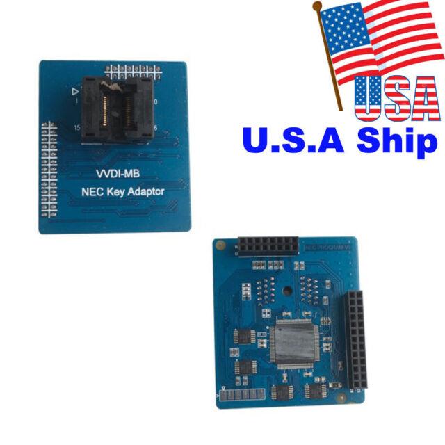 USA Shipping Xhorse OBD2 VVDI MB NEC Key Adaptor