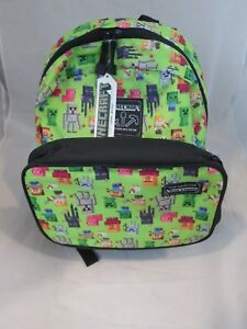2d1823d590d9 Image is loading MINECRAFT-Backpack-for-Kids-16-034-with-Detachable-