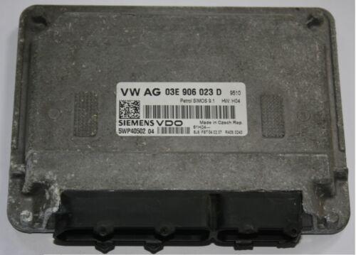 VW Pole Engine Control Unit ECU 1.2 BME 03E 906 023 D 03E906023D