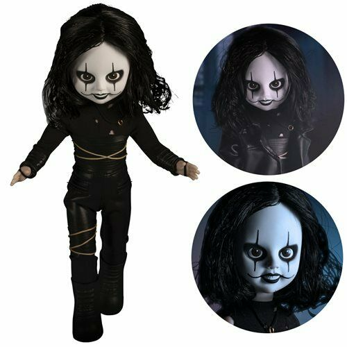 """Mezco Toyz 99611 10/"""" The Crow LDD Presents Movable Figure* BRAND NEW* IN STOCK*"""