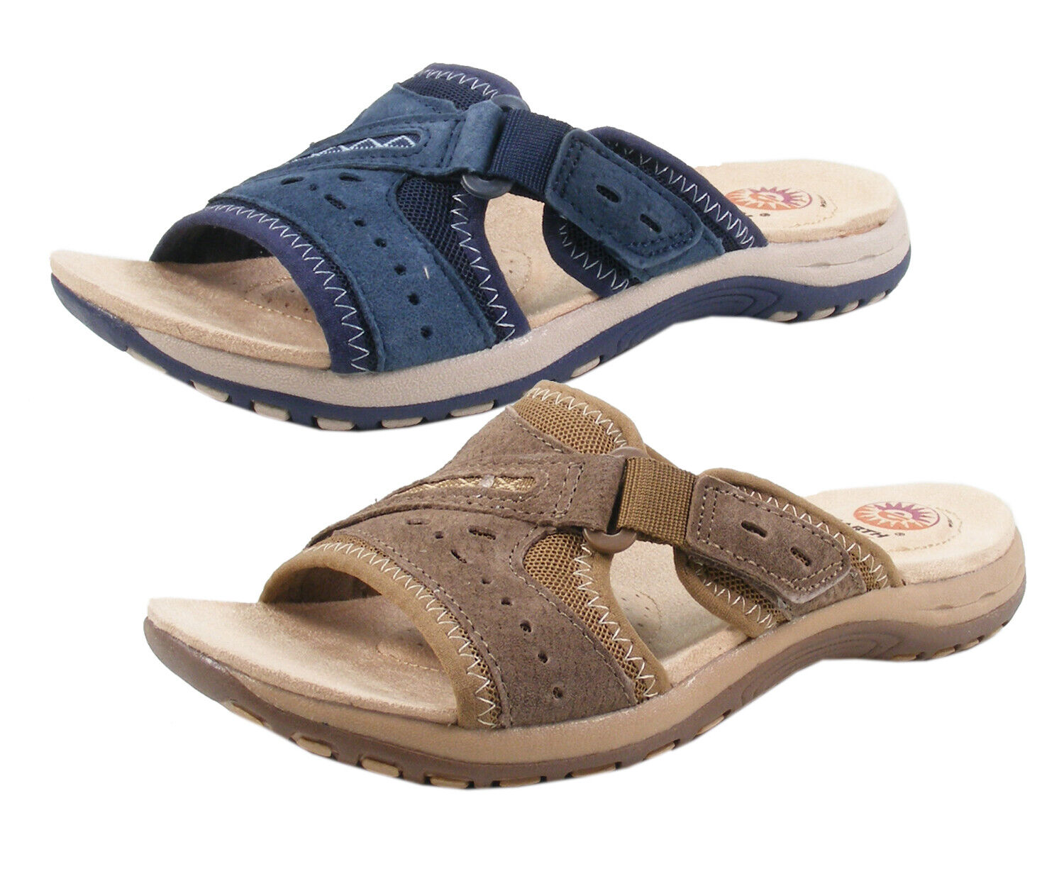 Earth Spirit Lakewood mujer Clogs Mules Leather
