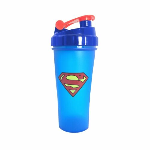 Super Heroes Shaker Bottle With Stirring Ball Sports Whey Protein Powder Mixing