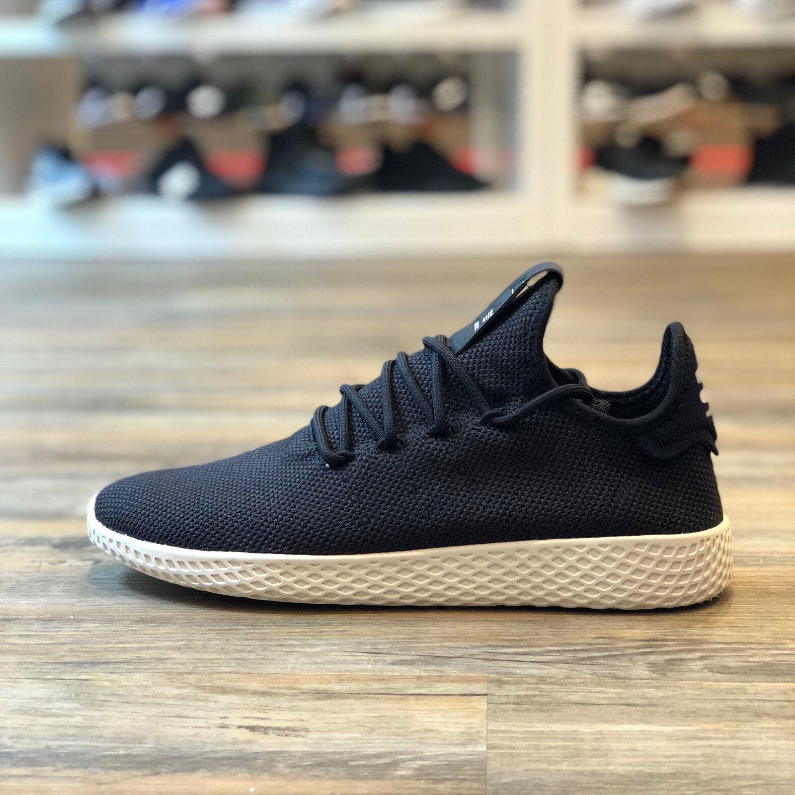 ADIDAS Pharrell Williams Tennis Hu Gr.44 2 3 Schuhe Turnschuhe schwarz Neu AQ1056