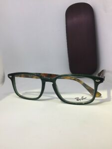 c5fa41905a NEW Authentic Ray Ban RB 5353 5630 Green-Havana RX Eyeglasses 52-19 ...