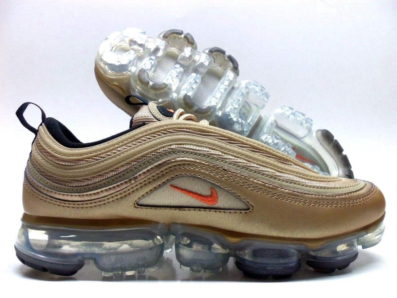 NIKE AIR VAPORMAX '97 blueR VINTAGE CORAL-ANTHRACITE SIZE WOMEN'S 6