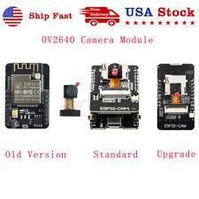 Esp32 Cam Mb 5v Wifi Bluetooth Development Camera Board Usb To Ch340g Ov2640