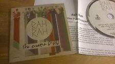 CD Indie Rah Rah - The Poet's Dead (10 Song) DEVIL DUCK cb / + Presskit