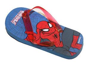 Tongs-Sandales-Garcon-amp-Bebe-avec-elastique-Spider-Man-SpiderMan-Marvel