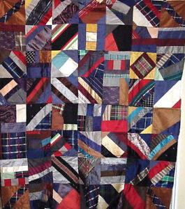SIMPLE-YET-INTRICATE-SILK-CRAZY-QUILT-TOP-c-1910