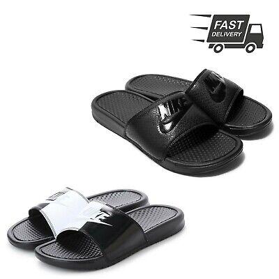 offer discounts in stock classic styles Mens NIKE Benassi JDI Slide Sandals Sliders Flip Flops Slippers ...