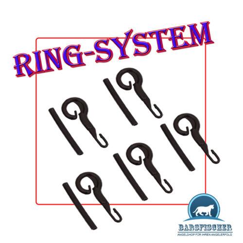 NEU 1 Päckchen RING System mit Gummischlauch 5 Stück