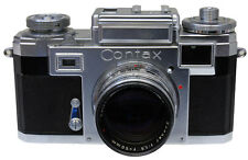 Contax IIIa with 50mm F1.5 sonnar lens