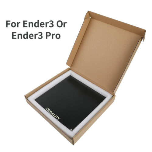 Creality 235X235X3mm Glass Print Bed For Ender 3//Ender 5//Ender 3 Pro 3D Printer