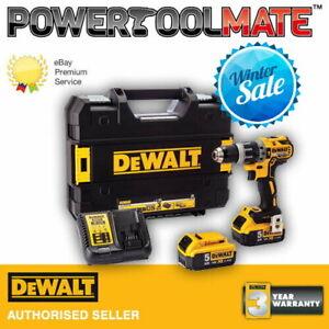 Dewalt DCD796P2 18v Li-Ion XR Brushless Compact Combi Drill - 2x 5.0Ah Batteries