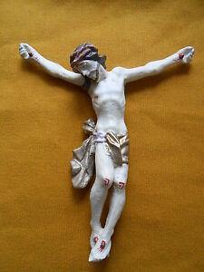 Christus Körper / Corpus ohne Holzkreuz für Bastler 16 x 15 cm Neu