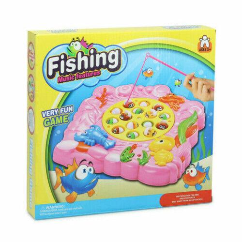 Jeux traditionnels Wind Up Magnétique Fun 2 joueurs de pêche jeu en multi couleur