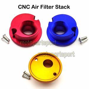 Air Filter Adapter Velocity Carburetor Stack 47cc 49cc Pocket Bike Mini Moto ATV
