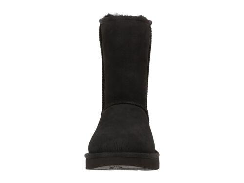 Nieuw 100Authentiek 1016223 Ii Ugg Classic Dames Boot Short Twinface Zwart PkZXui