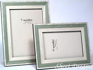 Natalini Trali Verdino Green Hand Made in Italy Wood Marquetry Photo Frame New