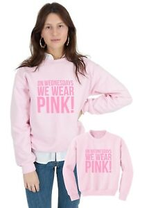 Sweaters We Wear On Matching Set Child Pink Mother Clothing Jumpers Wednesdays 6qSwp4