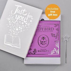 Personalised-Ladybird-Story-Book-For-Girls-Childrens-Christmas-Gift-Hardback
