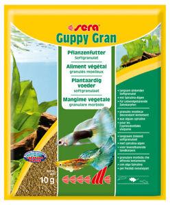 Lot de 6 comprimés Sera Guppy Gran, 6 x 250 ml