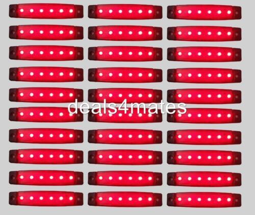 90 Teile 24v Led Hinten Rot Heck Seitenmarkierungsleuchten für Lkw DAF Mann