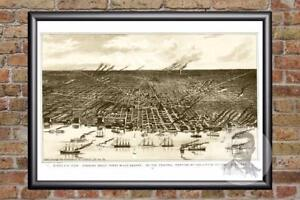 Vintage-Detroit-MI-Map-1889-Historic-Michigan-Art-Old-Victorian-Industrial