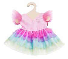Heless Puppenkleidung, Puppenkleid Regenbogenfee, für 35 - 45 cm Puppen