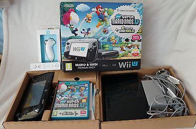 Nintendo Wii U Mario & Luigi Premium Pack 32GB Black Handheld System