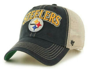 PITTSBURGH-STEELERS-NFL-SNAPBACK-TRUCKER-TUSCALOOSA-RELAXED-CAP-HAT-NWT-039-47