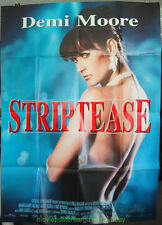 STRIPTEASE MOVIE POSTER French 47x63 Grande Size DEMI MOORE