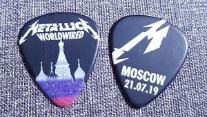 Metallica-Moscow-Russia-Worldwired-Tour-2019-Pick-Plectrum-Berlin-Moskau