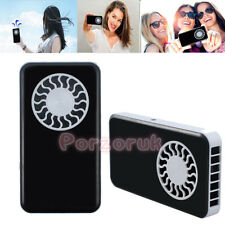 Portable Pocket USB Rechargeable Fan Cooling Air Travel Cooler Fan HandHeld Mini