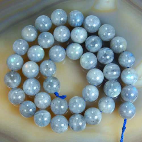 "New 4mm 6mm 8mm 10mm 12mm  Labradorite Round Loose Gemstones Beads 15/"""