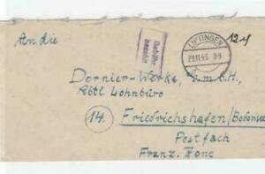 Germany 1945 Liptingen stamps cover R20693