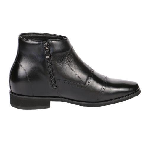"""Jota Midtown Cap Toe Zip Boot 2.8/"""" Increasing Height GKB22"""