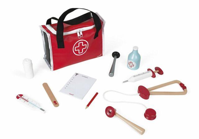 Janod Jura Toys J06513 Doctor's Suitcase Toy