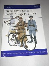 Men-At-Arms: Germany's Eastern Front Allies 1941-45 131 by Nigel Thomas and Peter Abbott (1982, Paperback)