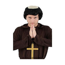 Priest Felt Withrim Party Theme Hats Caps /& Headwear For Fancy Dress Costumes