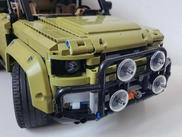 Anbau für LEGO 42110 -Zubehör, Bull Bar, Frontschutzbügel, Bullfänger - MOC