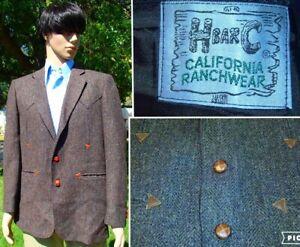 vintage-70s-H-BAR-C-CALIFORNIA-RANCHWEAR-western-blazer-wool-leather-trim-44R