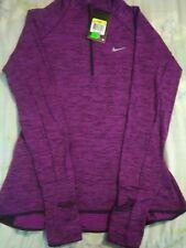 Nike Sphere Element Women's Half-Zip LS Running Shirt 852337 507  SMALL