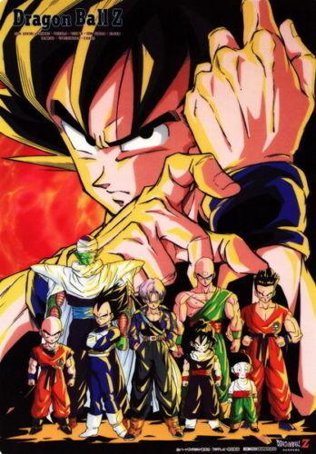 Scroll posters Dragon Pearl Goku Japanese anime retro decoration 40*60cm