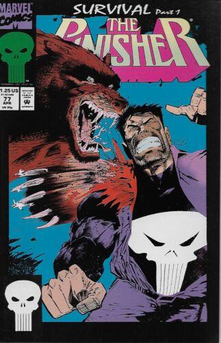 The Punisher No.77 Vol.2 1993 Roger Salick /& Val Mayerik