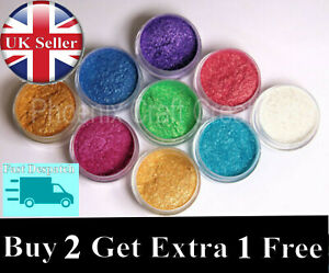 Epoxy Resin Coloured Craft Pigment Powder - 30 COLOURS - 10g * FREE POSTAGE *