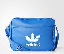 Adidas Originals Classic Airliner Shoulder Messenger Bag Blue -- AB2708