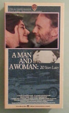 anouk aimee A MAN AND A WOMAN 20 YEARS LATER  VHS VIDEOTAPE