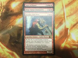 Commander-GOBLIN-KRENKO-MOB-BOSS-RED-EDH-MTG-MAGIC-RARES-MYTHICS-READY-TO-PLAY